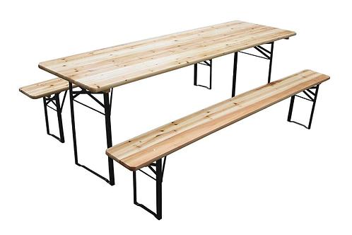 Udendørs bord bænksæt / Outdoor table and bench set