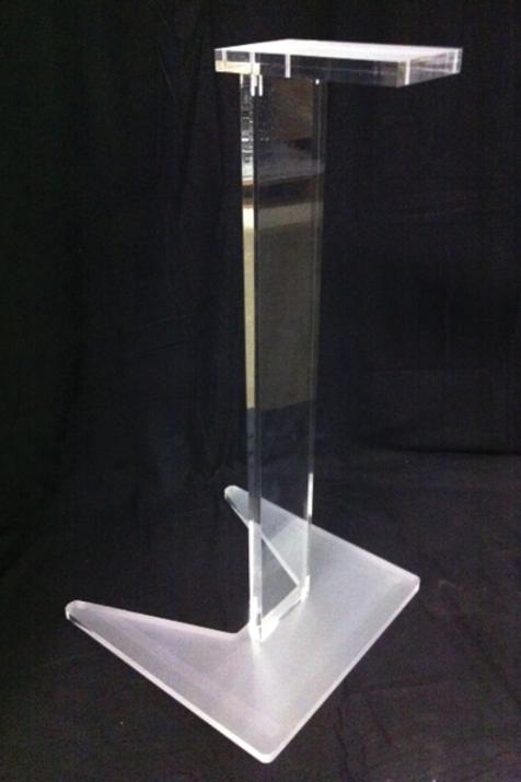 Akryl talerpult / acrylic lectern