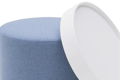 Softline Drum bakkebord, hvid / Softline Drum tray table, white