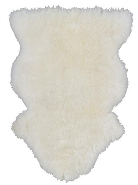 Fåreskind, råhvid / sheep skin, off white