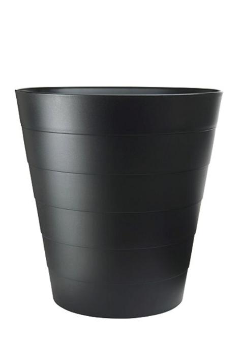 Lille papirkurv, sort / Small paper bin, black