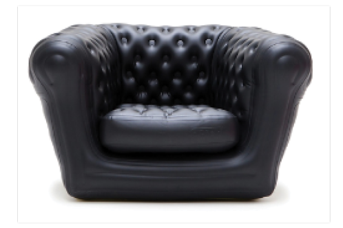 Big Blo 1, sort - oppustelig / Big Blo 1, black - inflatable