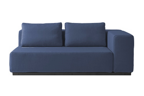 Softline Nevada sofa, blå / Softine Nevada couch, blue