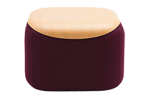 Quadro topbordplade, valnød / Quadro table top plate, walnut
