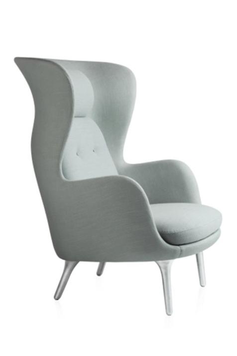 RO lænestol, lysgrå / RO armchair, light grey
