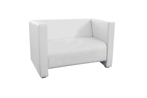 Sofa Q2, hvid / Couch Q2, white