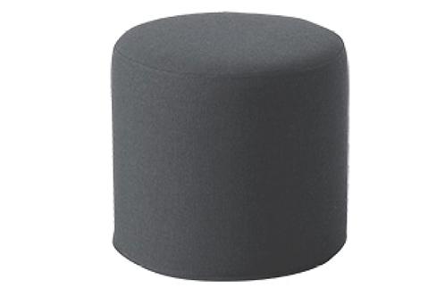 Drum puf, koksgrå / Drum pouf, charcoal