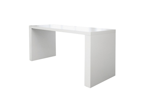 Arc bord, stor, hvid / Arc table, large, white