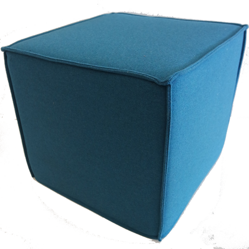 Space puf, turkis / Space pouf turquoise