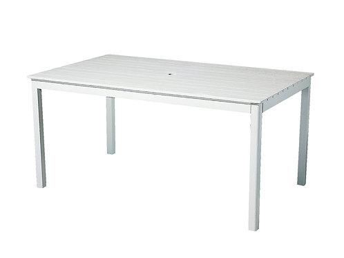 Havebord, hvid / garden table, white