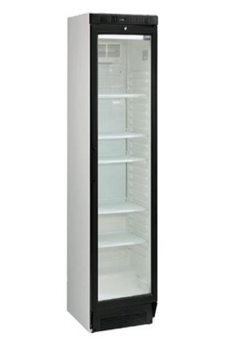 Køleskab m. glaslåge, 290 liter / Fridge w. glass door, 290 liter