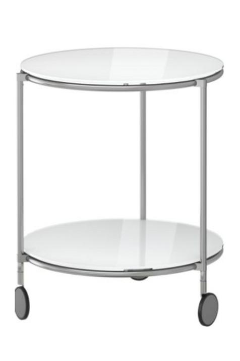 Afsætningsbord, glas / trolley table, glass