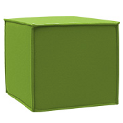 Space puf, lime / Space pouf lime
