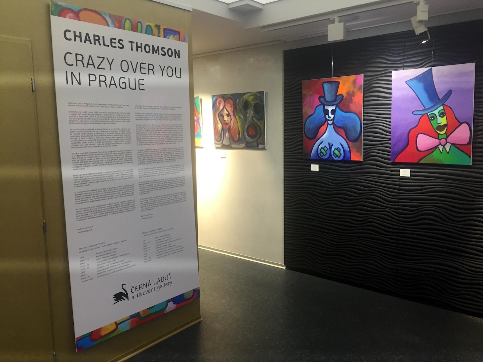 Černá labuť – Charles Thomson, 2015