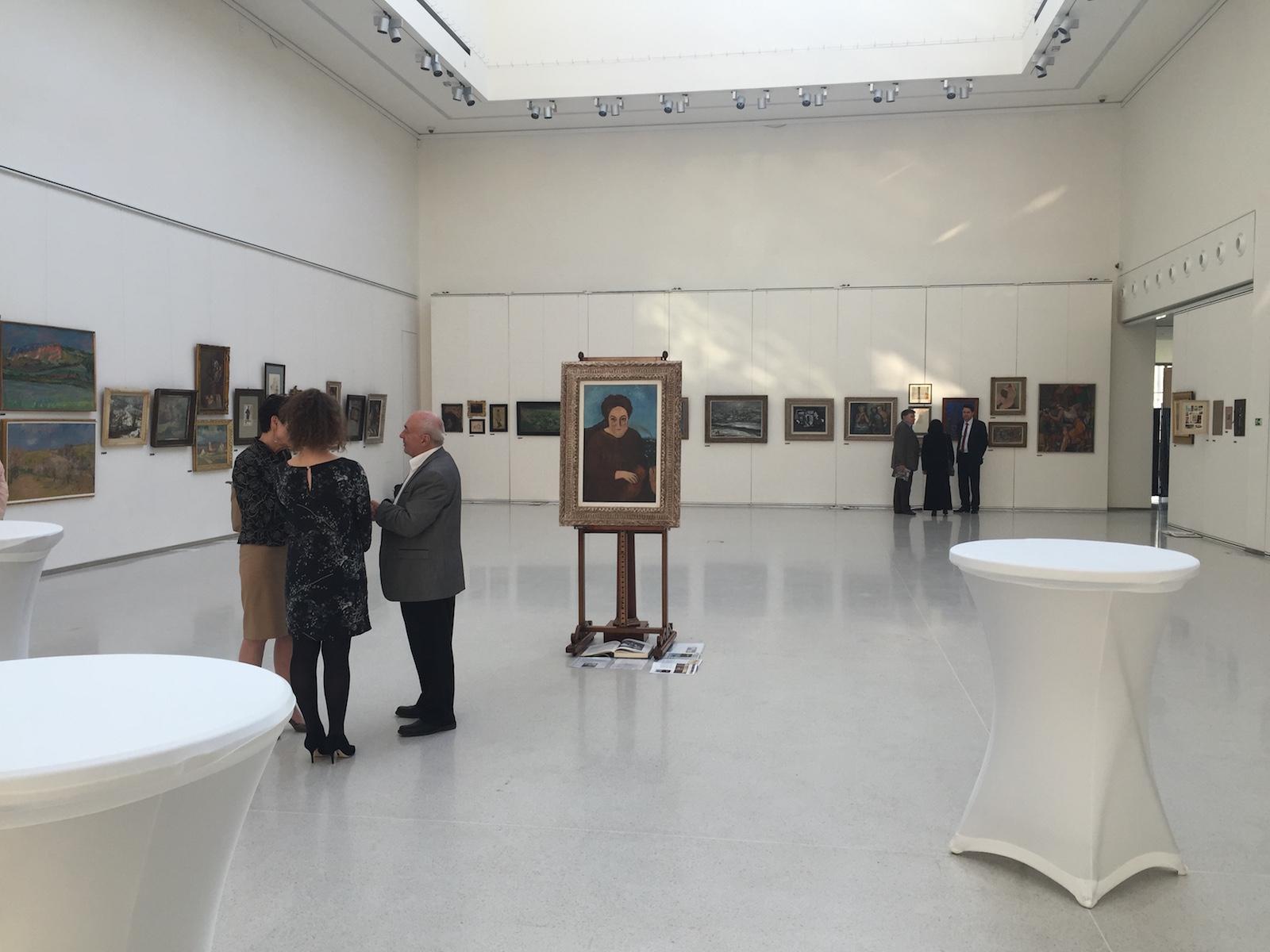 Privátní předaukční výstava, Mánes