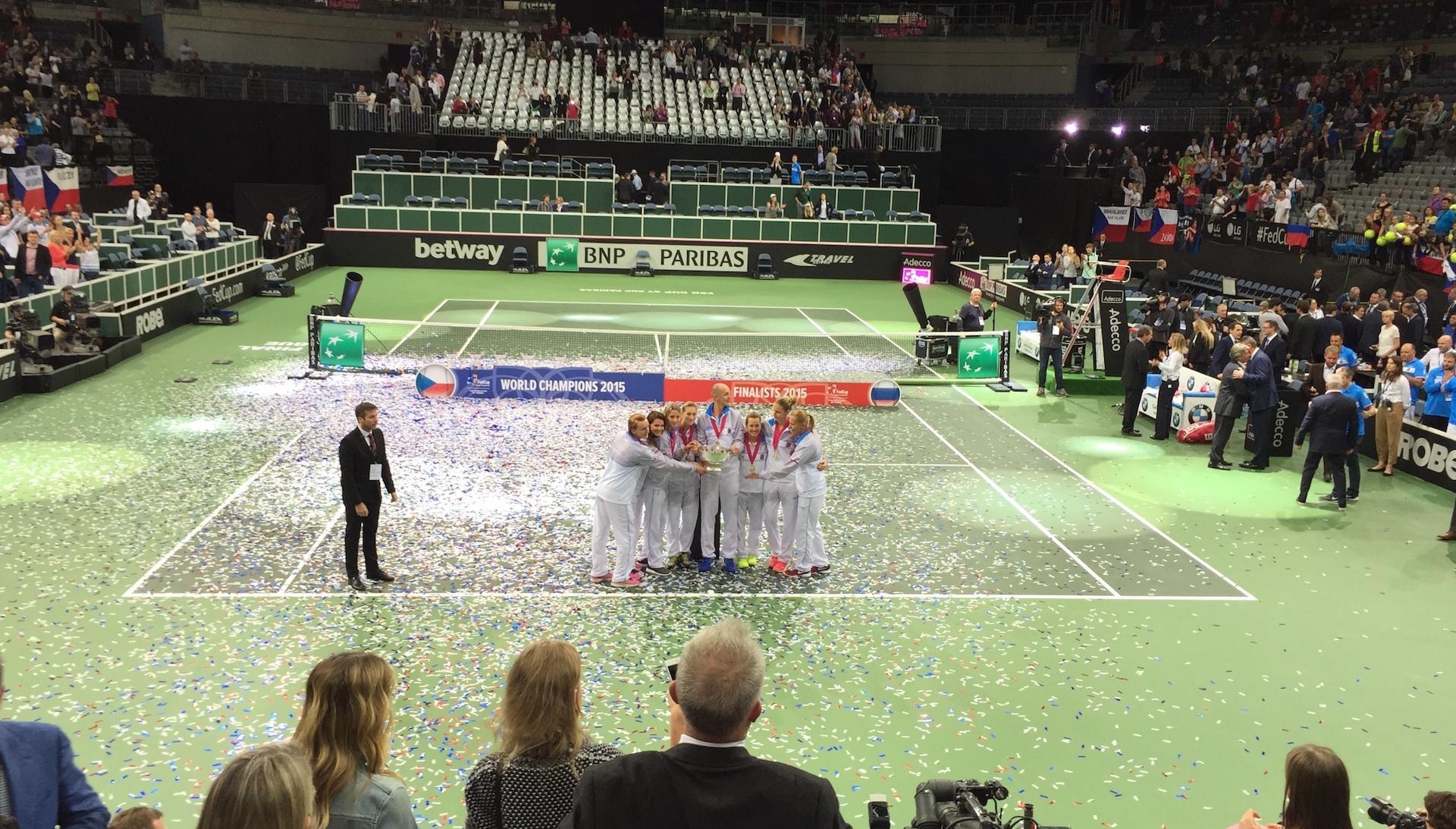 LISTOPAD 2015 – Finále FED CUP