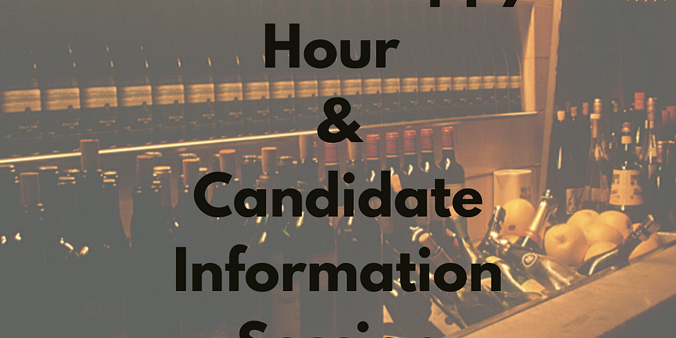 Virtual Happy Hour & Candidate Informational Session
