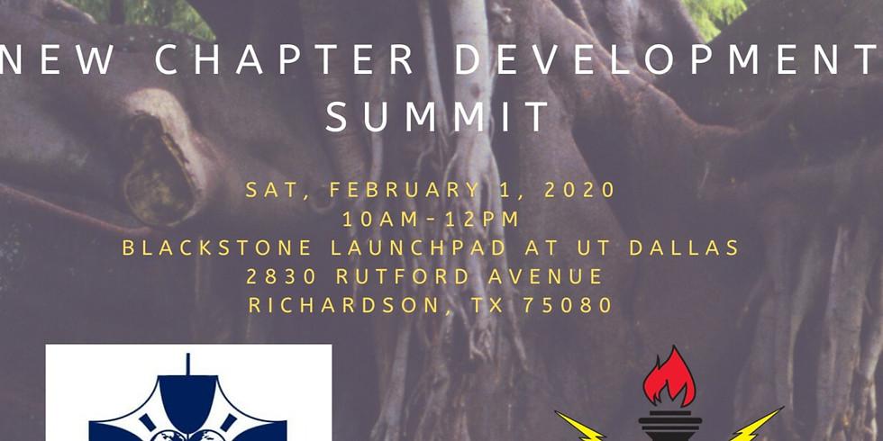 New Chapter Development Summit 2020