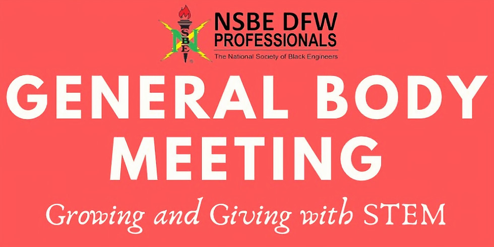 November General Body Meeting