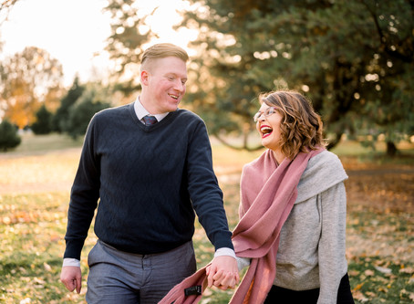 KATLYN & ROBERT (Goodale Park Engagement)