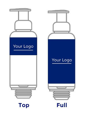 Bottle with desing your logo ailines