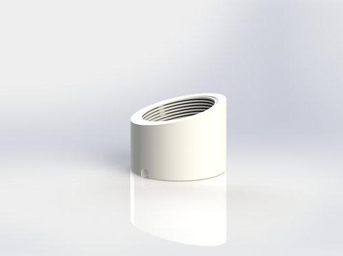 Single Counter Mount - Plastic