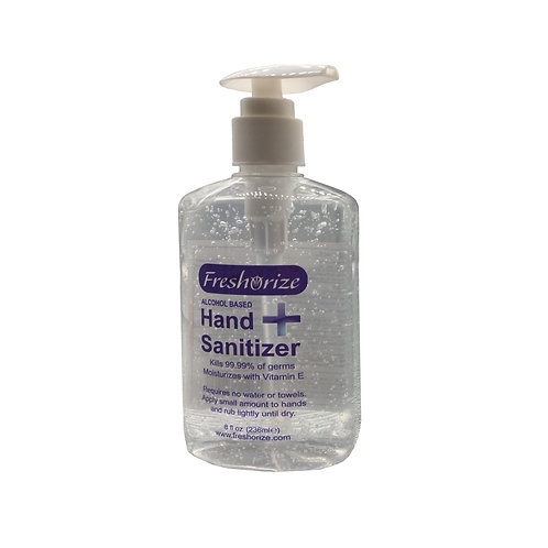 Alcohol Gel Sanitizer 236ml / 8oz
