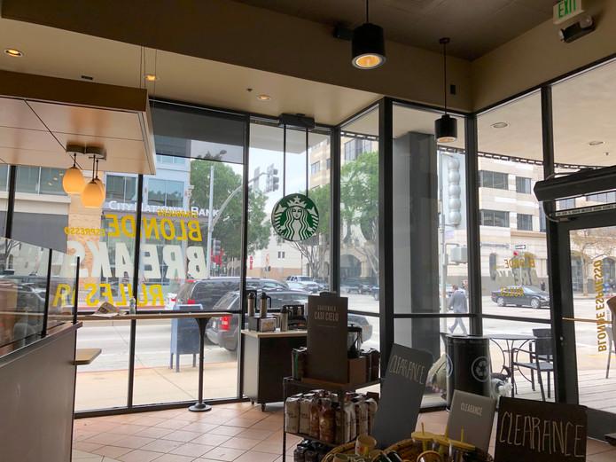 Starbucks Shopfront