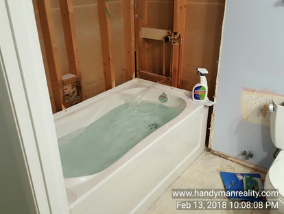 It's Always A Good Idea To Fully Test A New Bathtub Install