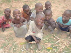 Smiling Lwengo children & orphans