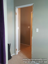 Bedroom Door & Frame In Need of Replacement