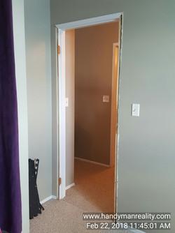 Bedroom Door & Frame In Need of Replacement