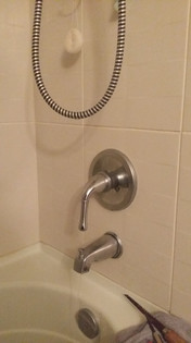 Dripping & Running Danze Bathtub Faucet