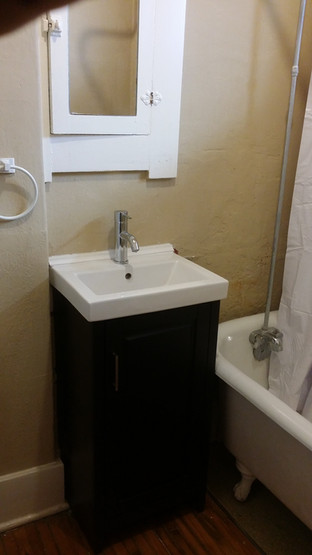 Wallmount Sink Upgrade Complete