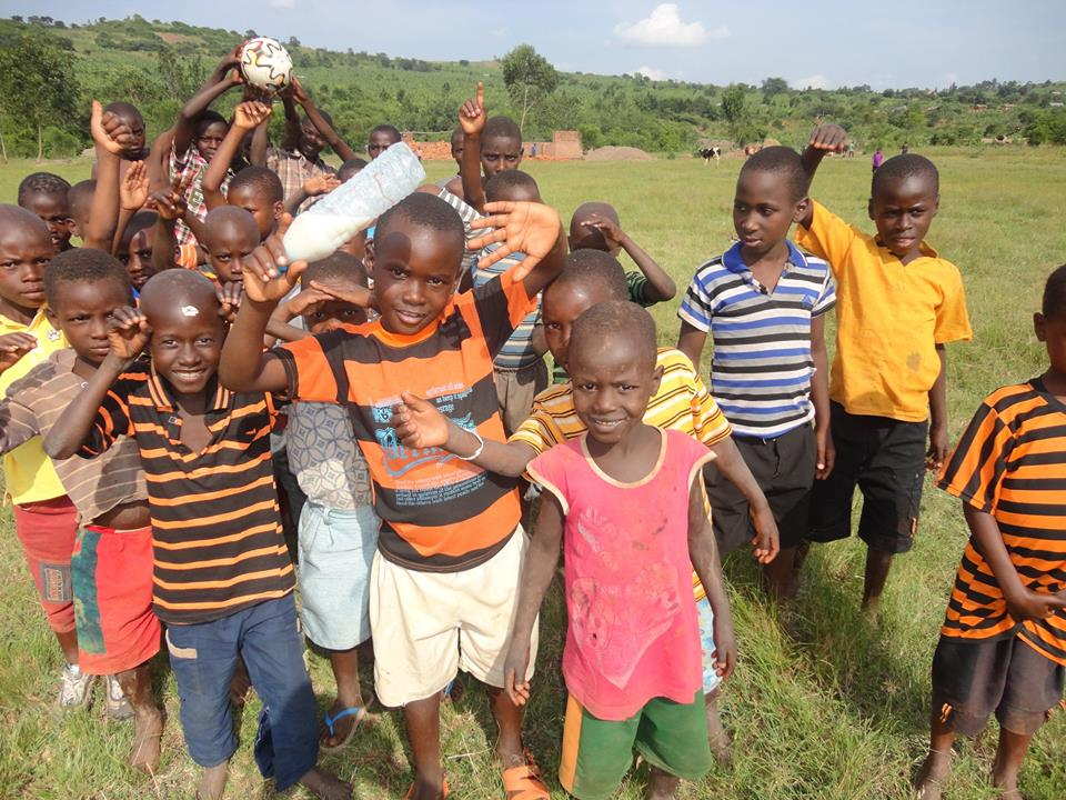 "Lwengo children & orphans say ""Hi"""