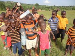 "Lwengo children & orphans say ""Hi"""