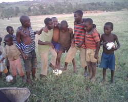 Lwengo children & orphans foot ball