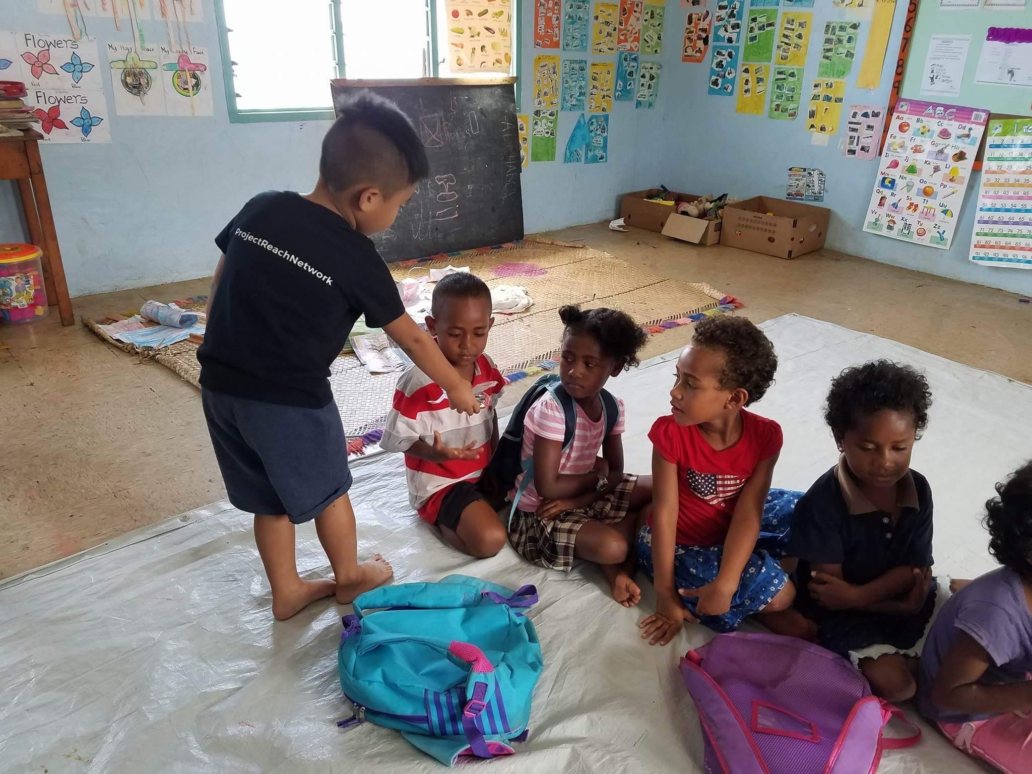 Ethan in Fiji