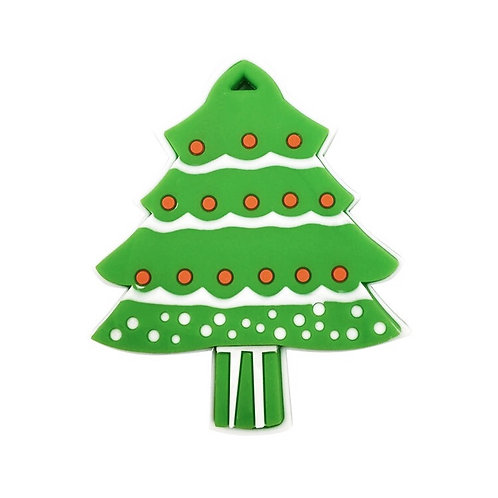 Christmas Tree Silicone Teether