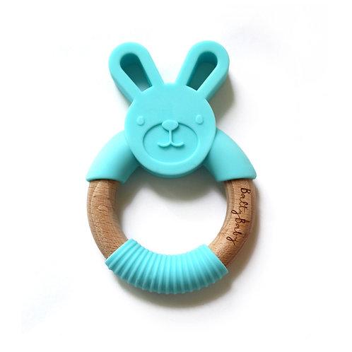 Bunny Teether - Blue