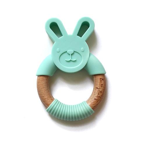 Bunny Teether - Mint