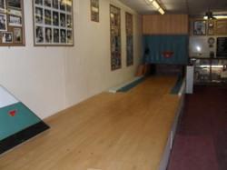 Practice bowling lane