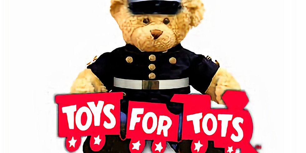 TOYS FOR TOTS DRIVE-THRU DROP-OFF