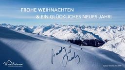 FROHE WEIHNACHTEN & EIN GLÜCKLICHES NEUES JAHR!