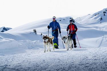 Snowshoe-Hiking