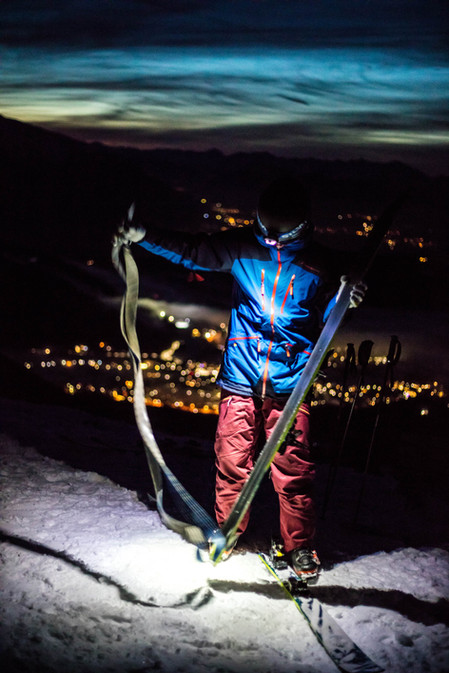 Skitour by Night