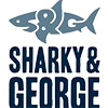 An image of the Shaky and George logo