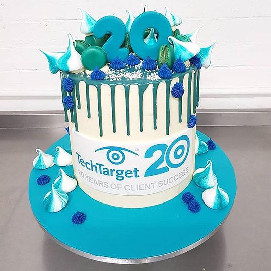 Corporate Drip Cake