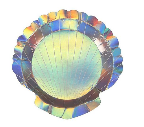 Shell Party Plates