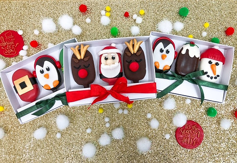 Multi Pack of Christmas Cakesicles